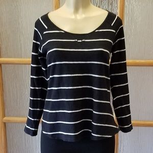 O'Neill Striped Boat Neck T-Shirt